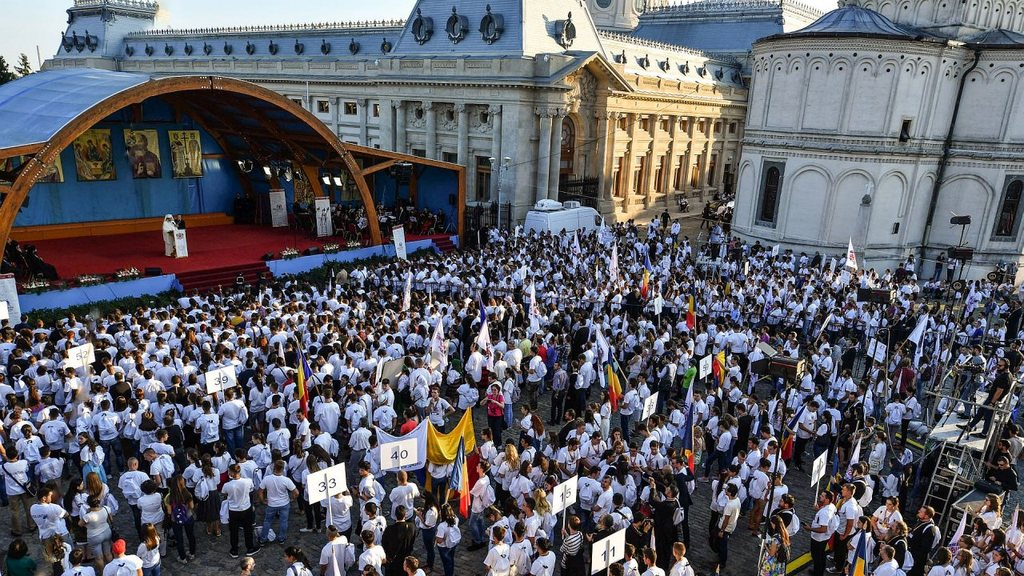 The speech of His Beatitude Daniel, Patriarch of Romania, delivered during the opening ceremony of the International Meeting of Orthodox Youth in Bucharest 2016