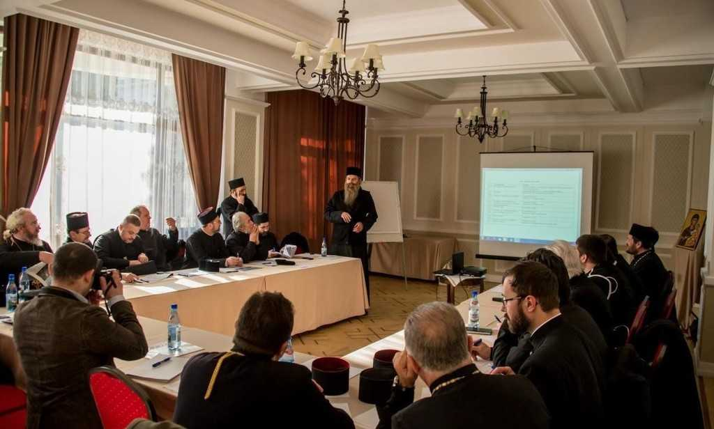 Iași: Concelebration and exchange of experience with priests from Bessarabia