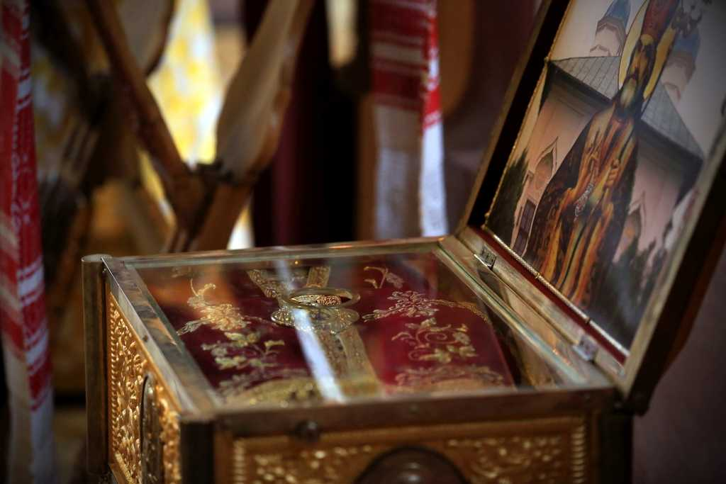 Holy relics of St Callinicus of Cernica