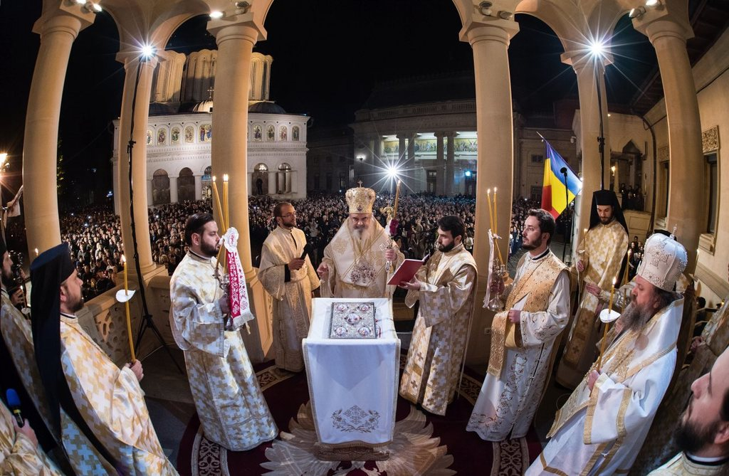 2017 Resurrection of the Lord at the Romanian Patriarchate
