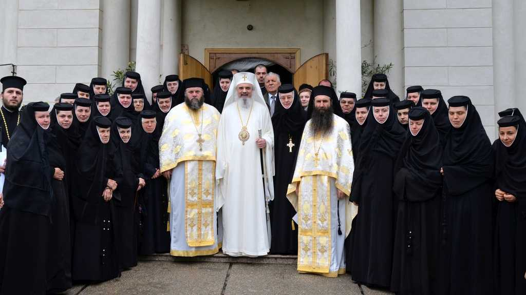 His Beatitude Patriarch Daniel at Pasarea Monastery