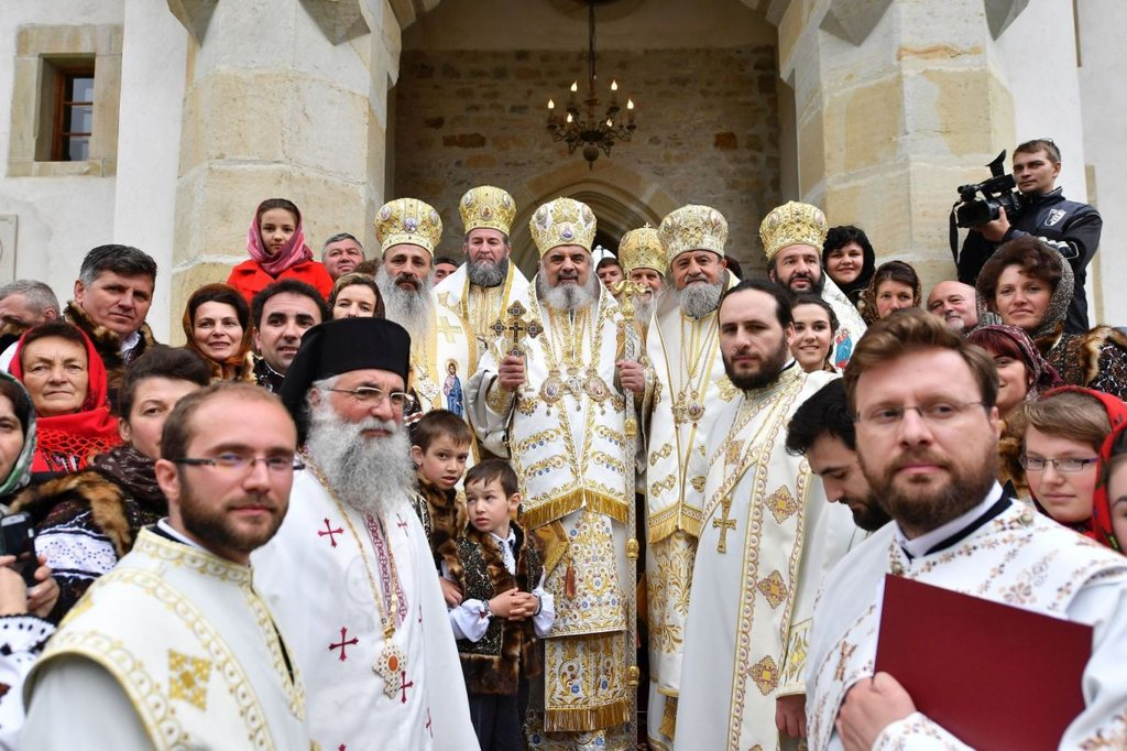 Putna Monastery - Canonization ceremony for the four Putna Sainfs