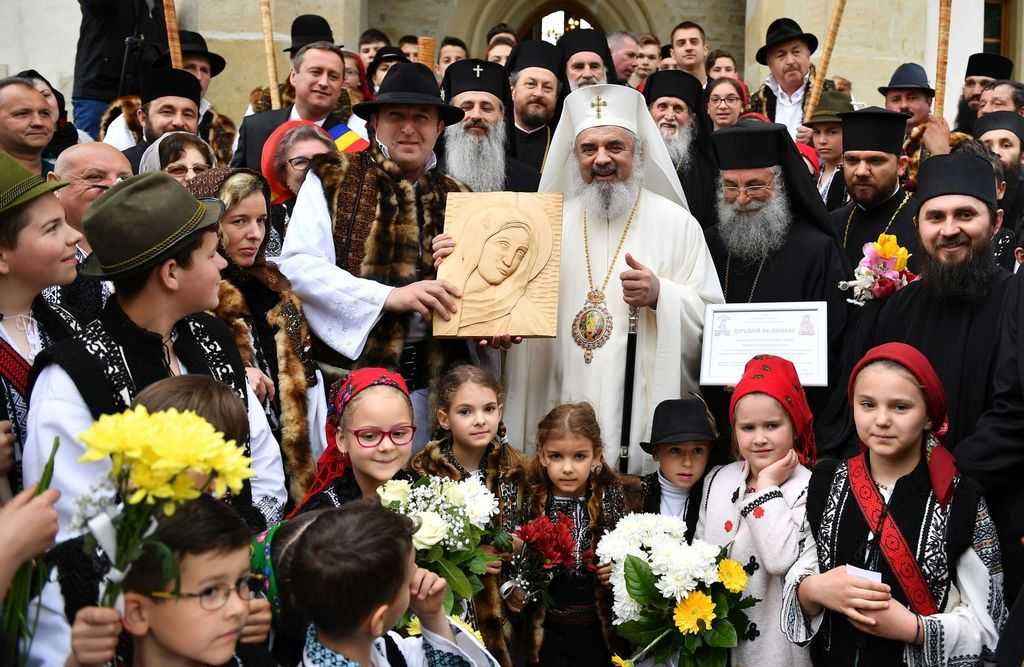 His Beatitude Patriarch Daniel at Putna Monastery 2017
