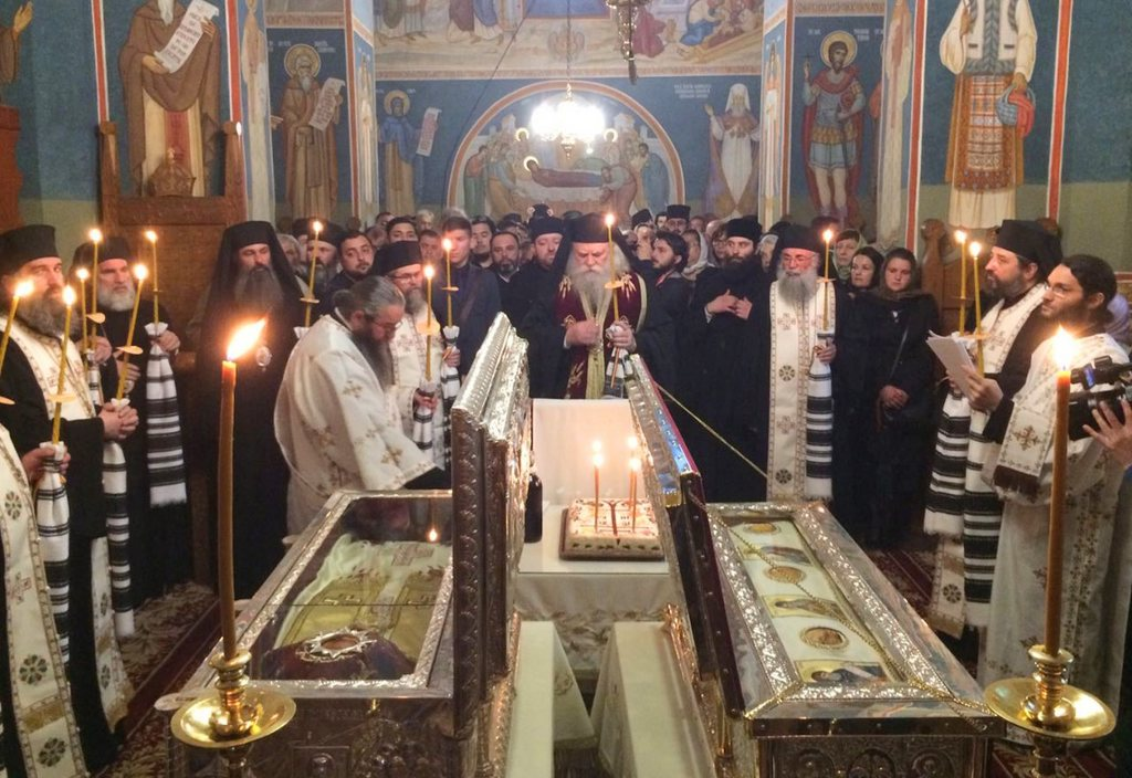 Memorial Service for the Putna Saints