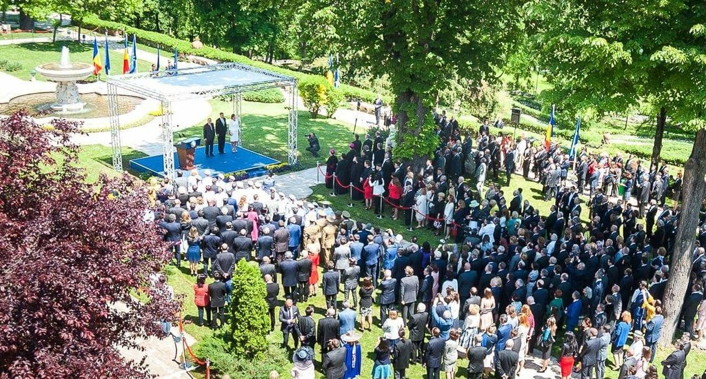 Reception offered at Cotroceni Palace on Europe Day 2017