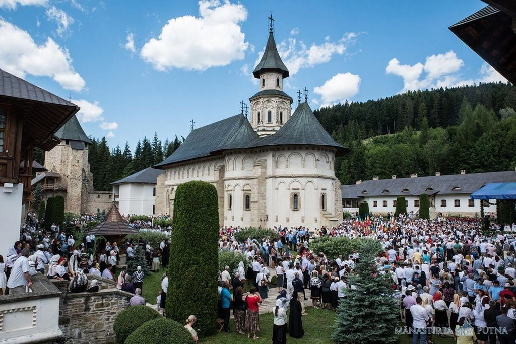 Patronal Feast of Putna Monastery | 'St Stephen is like the angels, whom he amazed by his bravery', HE Archbishop Pimen says