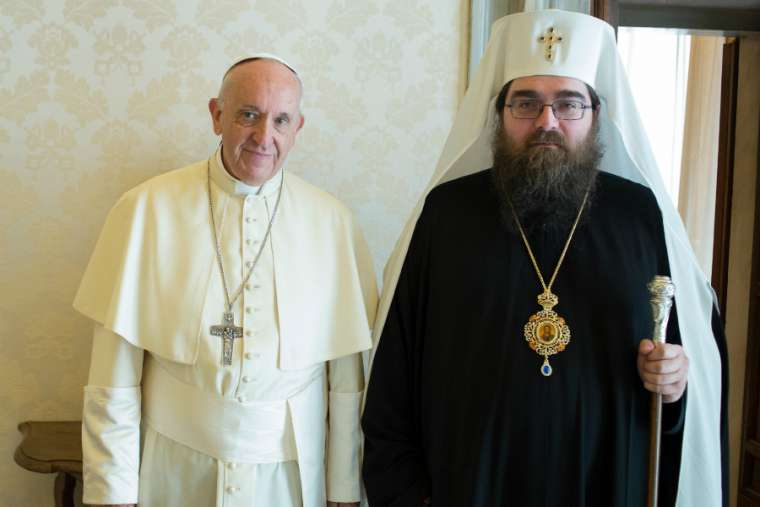 Pope_Francis_meets_with_Metropolitan_Ratislav_Archbishop_of_Preov_at_the_Vatican_May_11_2018_Credit_Vatican_Media_CNA